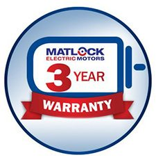 Matlock offers the best warranty in the industry.